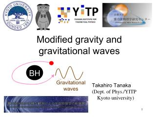 Modified gravity and gravitational waves