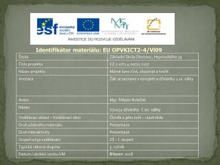 Identifikátor materiálu: EU OPVKICT2-4/Vl09