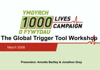 The Global Trigger Tool Workshop
