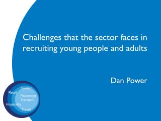 Challenges  that the  sector  faces in recruiting young people and adults