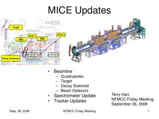 MICE Updates
