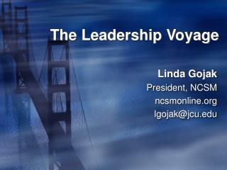 The Leadership Voyage