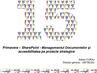 Primavera – SharePoint - Managementul Documentelor şi accesibilitatea pe proiecte strategice