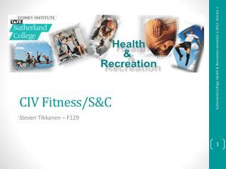 CIV Fitness/S&C