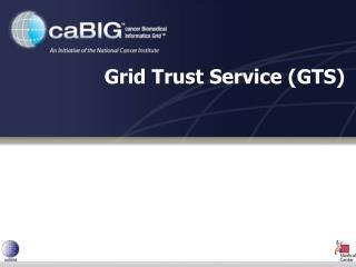 Grid Trust Service (GTS)