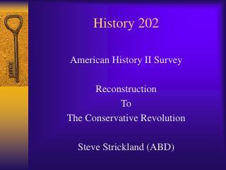 History 202