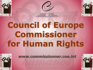 Council of Europe Commissioner for Human Rights