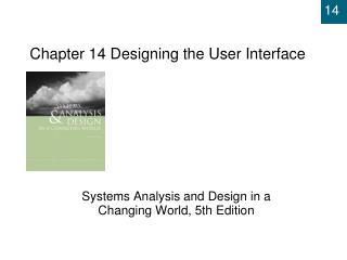 Chapter 14  Designing the User Interface