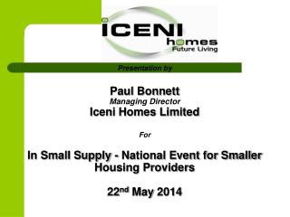 Who Are Iceni Homes?