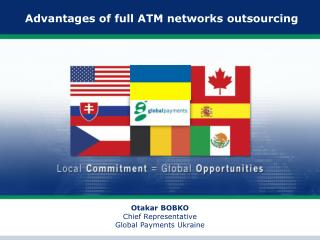 Advantages of full ATM networks outsourcing