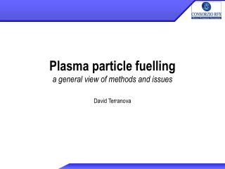 Plasma particle fuelling a general view of methods and issues