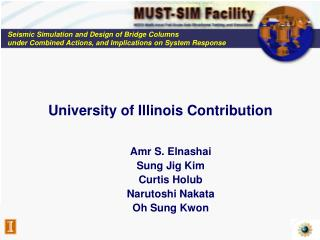 University of Illinois Contribution