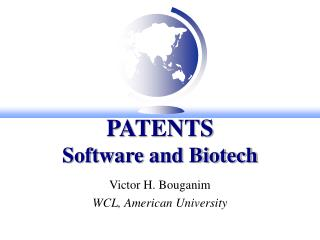 PATENTS Software and Biotech