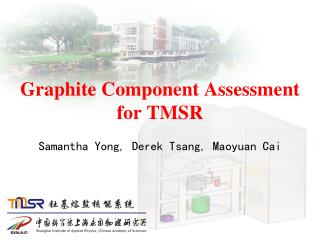 Graphite Component Assessment for TMSR