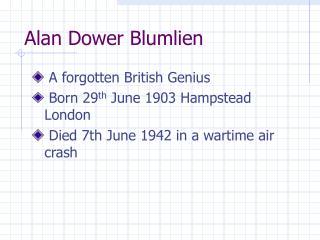 Alan Dower Blumlien