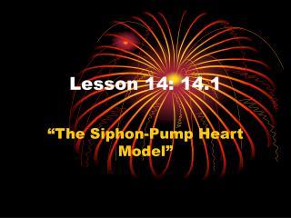 Lesson 14: 14.1