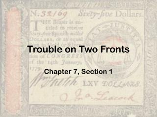 Trouble on Two Fronts