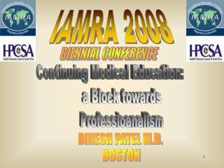 IAMRA 2008