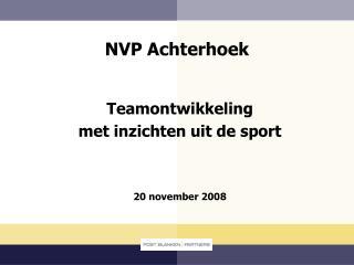 NVP Achterhoek