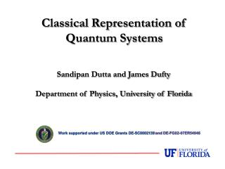 Sandipan Dutta and James Dufty Department of Physics, University of Florida