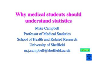 Why medical students should understand statistics