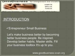 entrepreneur small business