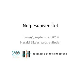 Norgesuniversitet