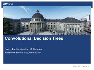 Convolutional Decision Trees