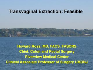 Transvaginal Extraction: Feasible