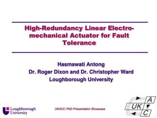 High-Redundancy Linear Electro-mechanical Actuator for Fault Tolerance