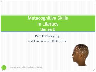 Metacognitive  Skills  in Literacy Series B