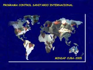 REDIMENSIONAMIENTO DEL CONTROL SANITARIO INTERNACIONAL