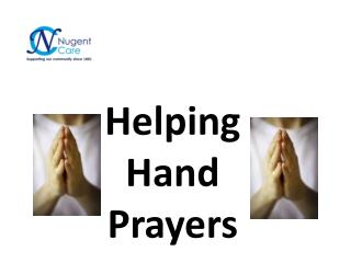 Helping Hand Prayers