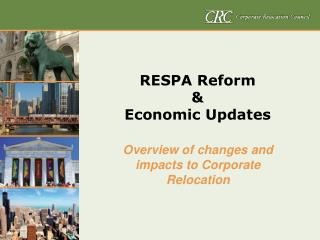 RESPA Reform &  Economic Updates