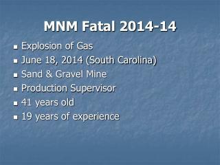 MNM Fatal 2014-14