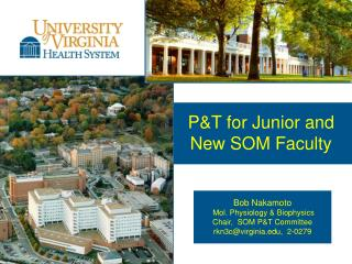 P&T for Junior and  New SOM Faculty
