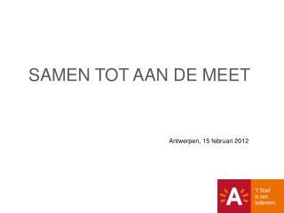 Antwerpen, 15 februari 2012