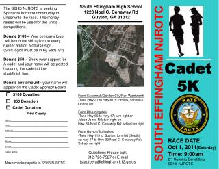 SOUTH EFFINGHAM NJROTC