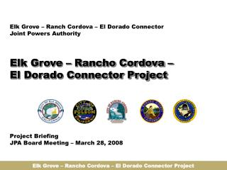 Elk Grove – Rancho Cordova – El Dorado Connector Project