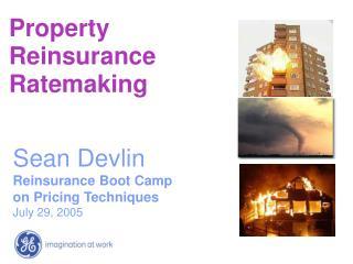 Property Reinsurance Ratemaking