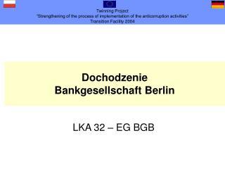 Dochodzenie Bankgesellschaft Berlin