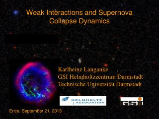 Weak Interactions and Supernova Collapse Dynamics