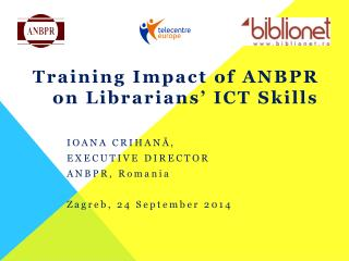 Training Impact of ANBPR on Librarians' ICT Skills