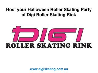 Host your Halloween Roller Skating Party