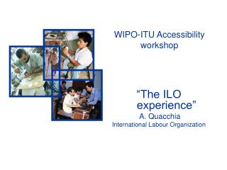 WIPO-ITU Accessibility workshop