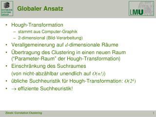 Globaler Ansatz
