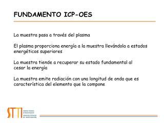FUNDAMENTO ICP-OES