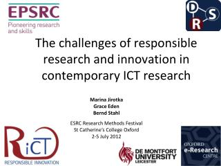 The challenges of responsible research and innovation in contemporary ICT research