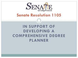 Senate Resolution 1105