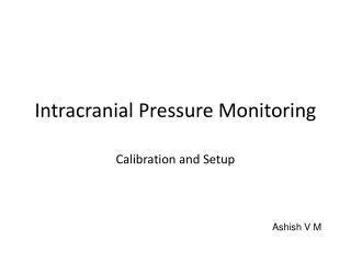 Intracranial Pressure Monitoring